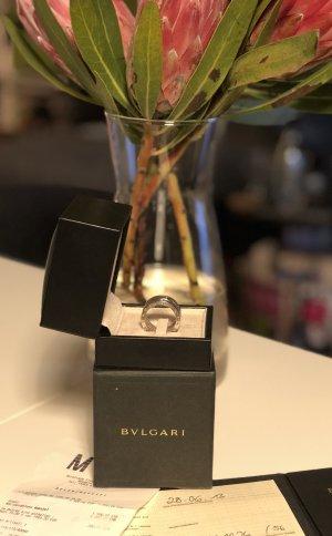 Bvlgari Ring, weißgold, 12mm, Gr. 56