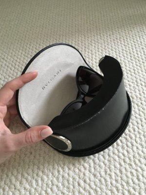 Bvlgari Zonnebril zwart-zilver
