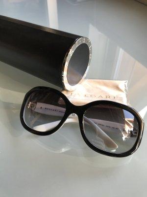 Bvlgari Sonnenbrille schwarz weiß Modell 8064 Bulgari