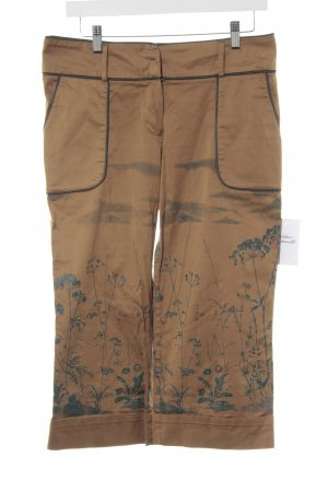 by Groth Capris bronze-colored-cadet blue mixed pattern extravagant style