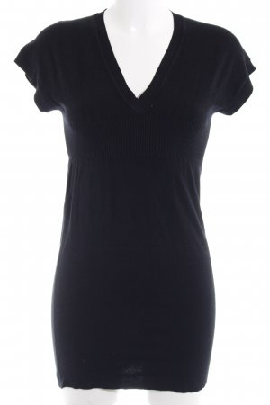 By Laetitia Knitted Dress black fluffy