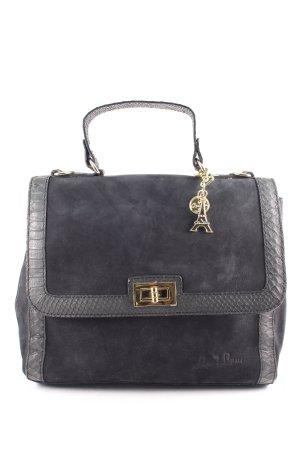 by LouLou Handtasche schwarz klassischer Stil
