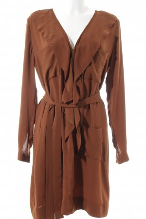 by Malene Birger Blusenkleid cognac Casual-Look