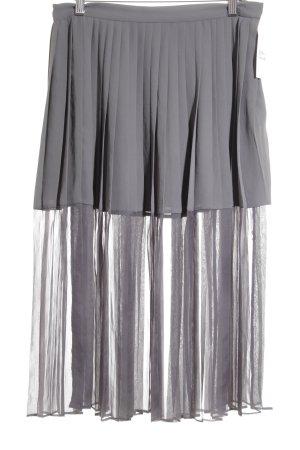 by Malene Birger Faltenrock grau schlichter Stil