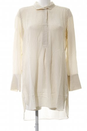 by Malene Birger Hemdblusenkleid creme Streifenmuster Business-Look