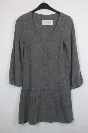 By Malene Birger Kleid Wollkleid, Strickkleid Gr. S grau (18/5/299)