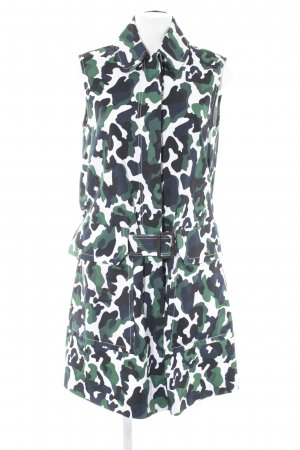 by Malene Birger Kurzarmkleid Camouflagemuster Casual-Look