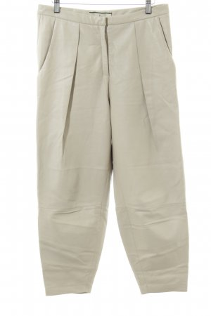 by Malene Birger Leather Trousers beige simple style