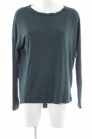by Malene Birger Longshirt dunkelgrün Casual-Look
