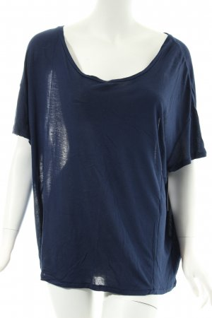 By Malene Birger Oversized Shirt dunkelblau klassischer Stil