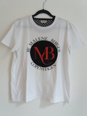 By Malene Birger Shirt mit Logoprint Gr. M