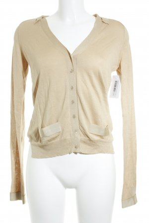 by Malene Birger Strick Cardigan beige Elegant