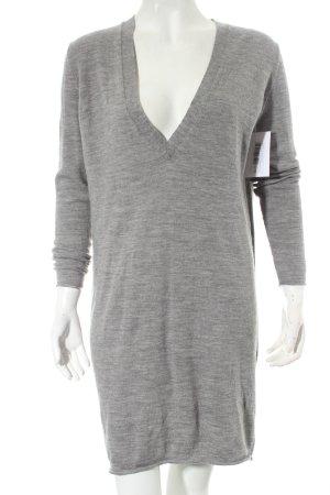 by Malene Birger Strickkleid grau-schwarz meliert minimalistischer Stil