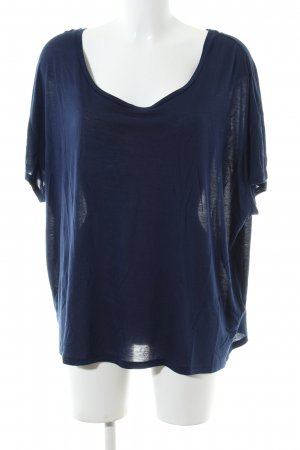 by Malene Birger T-Shirt blau Business-Look
