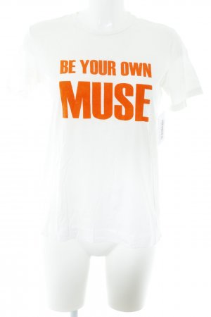 by Malene Birger T-Shirt creme-dunkelorange Street-Fashion-Look