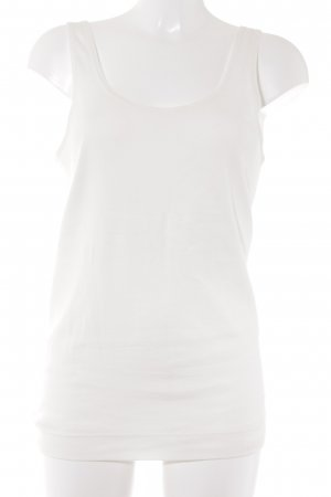 by Malene Birger Tanktop wollweiß Casual-Look