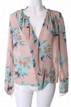 By Malene Birger Transparenz-Bluse florales Muster