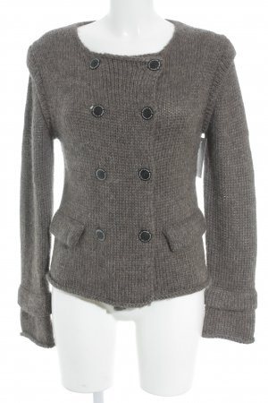 by Malene Birger Wool Jacket grey brown casual look