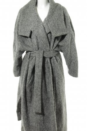by Malene Birger Abrigo de lana gris moteado look casual
