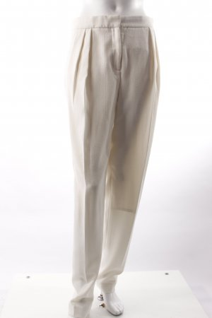 by Malene Birger Pleated Trousers cream-white