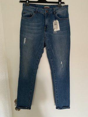 Rinascimento Boyfriend jeans azuur
