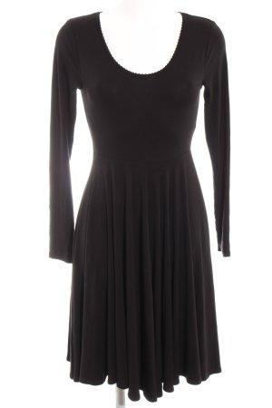 by Ti Mo A-Linien Kleid schwarz Elegant
