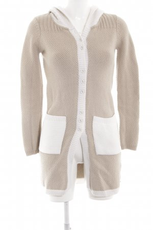 by Ti Mo Knitted Cardigan cream-white casual look