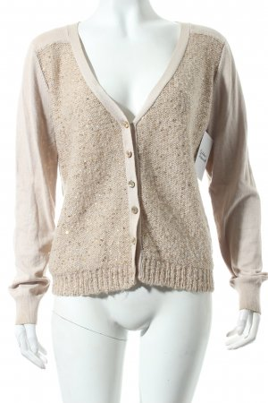by Ti Mo Strickjacke beige Street-Fashion-Look