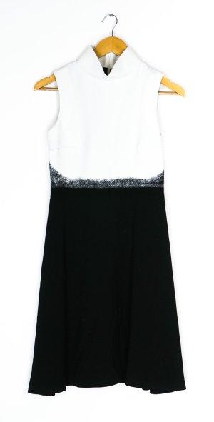 Byblos A Line Dress white-black