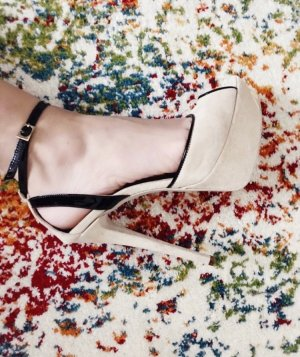 Byblos High-Heeled Sandals cream-nude