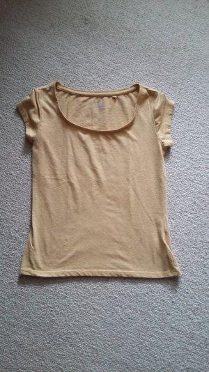 C&A basic shirt senfgelb, safrangelb