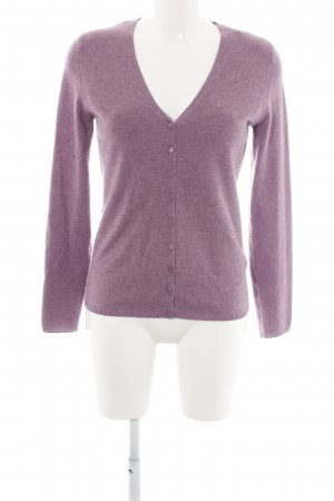 C&A Cardigan lila meliert Casual-Look