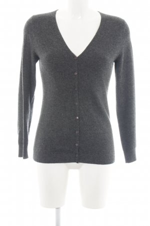 C&A Cardigan hellgrau meliert Business-Look