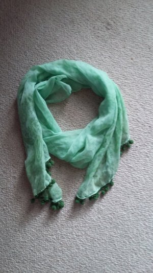C&A Scarf lime-green-meadow green cotton