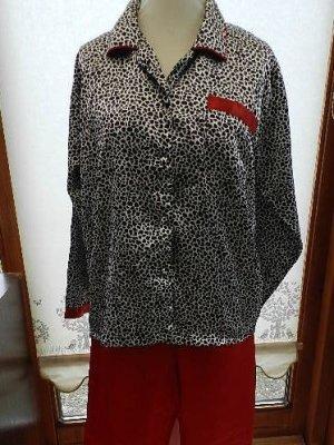 C&A Damen Schlafanzug - Hausanzug - Seidenoptik Gr. L/XL