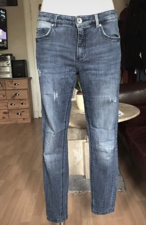 C&A distroyed Röhrenjeans Used Look S/M
