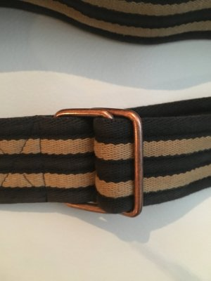 C&A Canvas Belt black-brown cotton