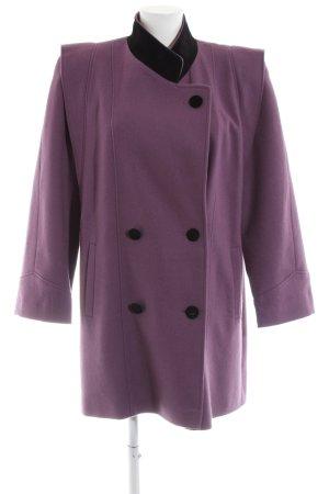C&A Fleece Coats lilac-black business style