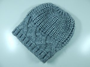 C&A Knitted Hat grey mixture fibre