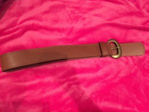 C&A Belt cognac-coloured