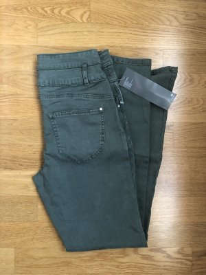 Yessica Hoge taille jeans khaki