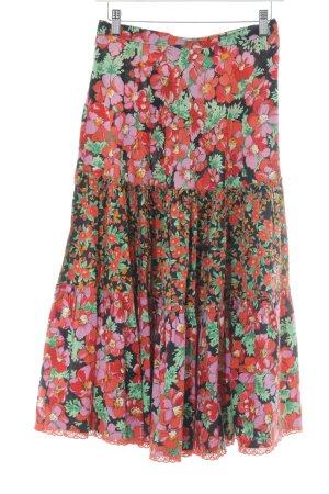 C&A Jupe taille haute motif floral style décontracté