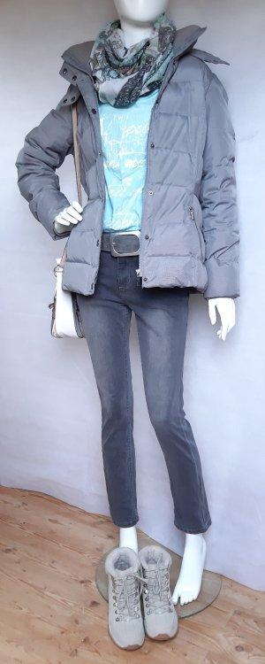 C&A Pantalon cinq poches gris-gris foncé
