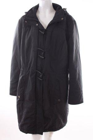 C&A Abrigo con capucha negro