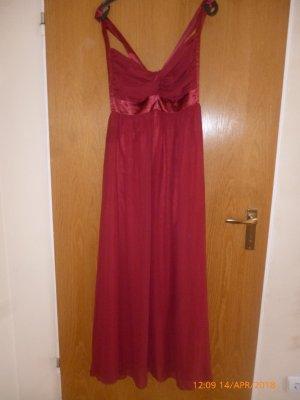 C&A Kleid ,lang gr40/42 Weinrot