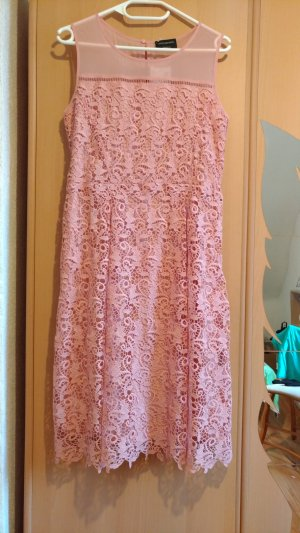 C&A Lace Dress pink polyester