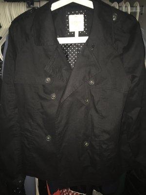 C&A kurze schwarze Jacke/Blazer Gr. L
