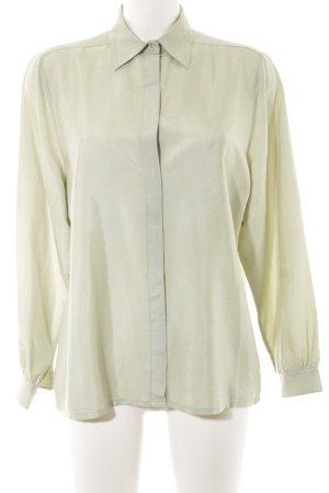 C&A Blusa de manga larga verde grisáceo look casual