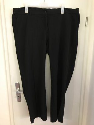 C&A Plus Size Hose Gr.50 Stoffhose elegant schwarz Anzughose