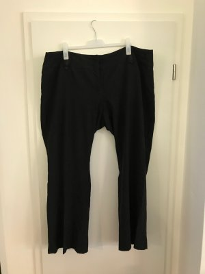 C&A Plus Size Hose Gr.52 Stoffhose elegant schwarz Anzughose